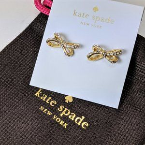 Kate Spade Tied Up Bow Stud Earrings